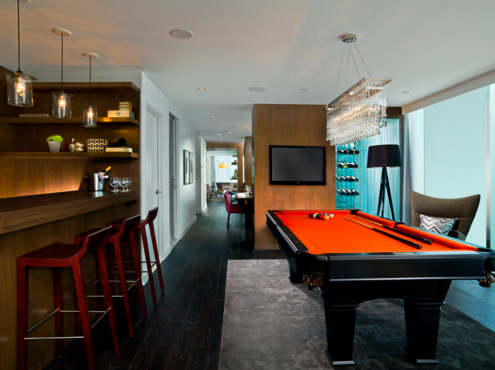 Bachelor Pad Musings Et Cetera - Pool table pad